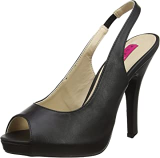 b58a91c3f1d02a Pleaser Women s Eve04 bpu Platform Dress Sandal