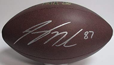 Jordy Nelson Autographed Wilson Super Grip Replica Football Signed - Certified Authentic
