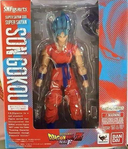 marca MA SOSER SOSER SOSER Dragon Ball SHF Super Saiyan 3 Sun Wukong Cabello negro Puede Hacerlo ( Color   rojo 15CM )  minoristas en línea