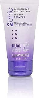 Giovanni 2Chic Ultra Repairing Shampoo, Blackberry and Coconut Milk, 1.5 Fluid Ounce