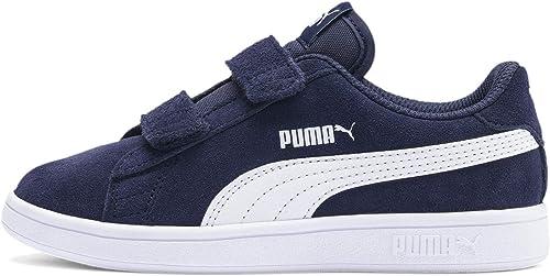 PUMA Smash V2 SD V PS, Sneaker Basse Mixte Enfant