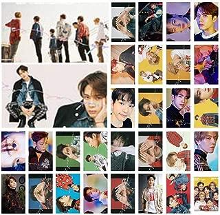 KPOP GOT7 Eyes On You Photo Postcard Lomo Cards Stickers Set Gift for Fans, 30 Pcs/set (1.1 H01)