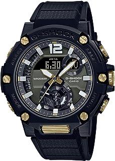 [カシオ] 腕時計 ジーショック G-STEEL ソーラー スマートフォンリンク GST-B300B-1AJF メンズ ブラック