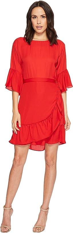 B Collection by Bobeau Astrid Apron Dress