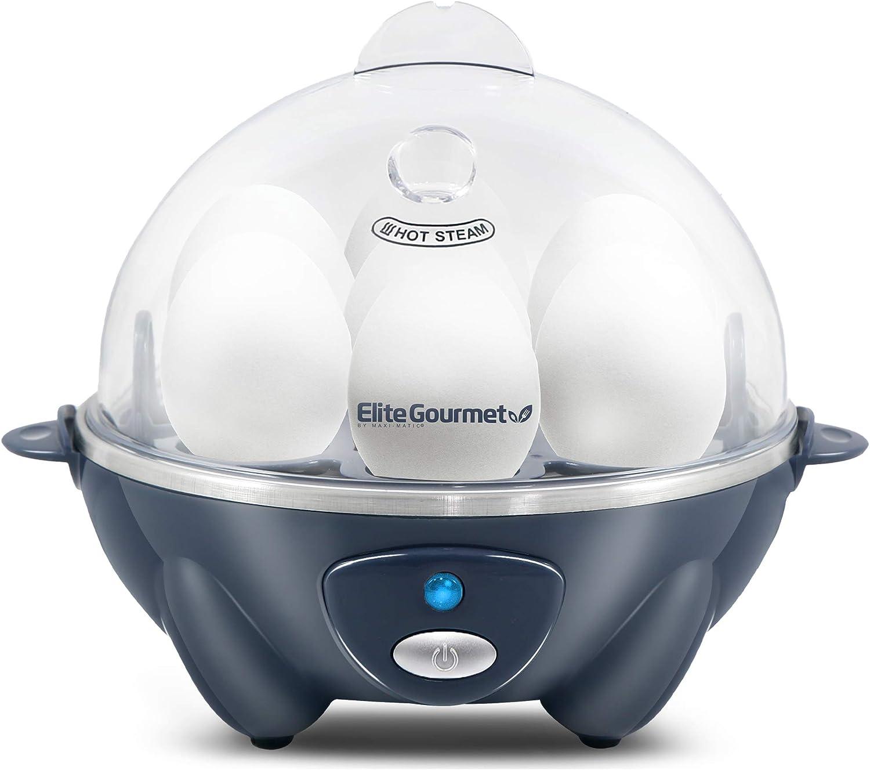 Elite Gourmet Easy Electric Ultra-Cheap Deals 7 Egg Same day shipping Hard-Bo Medium Capacity Soft
