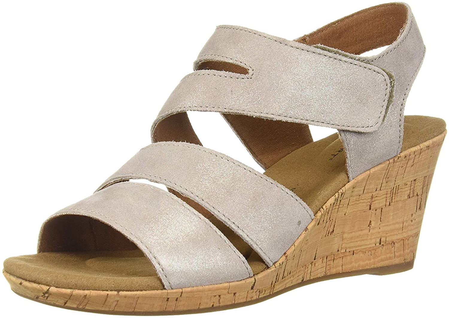 Rockport Women's Briah Sandal Wedge Our shop OFFers the best service Trust Asym