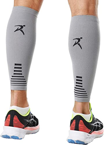 Calf Compression Sleeves for Men and Women (for Sports, Running, Shin Splints)