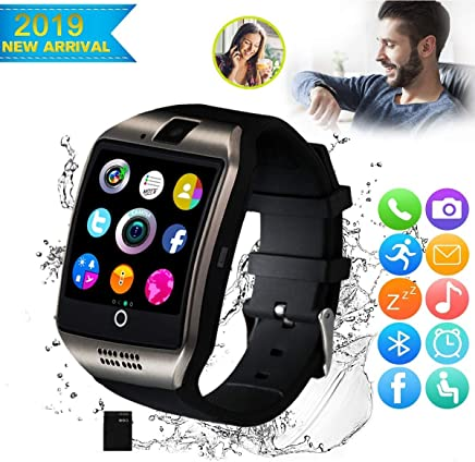 CNPGD [U.S. Office & Warranty Smart Watch] All-in-1 Weather Proof Smartwatch Watch Cell Phone for Android, Samsung, Galaxy Note, Nexus, HTC, Sony (Black, M)