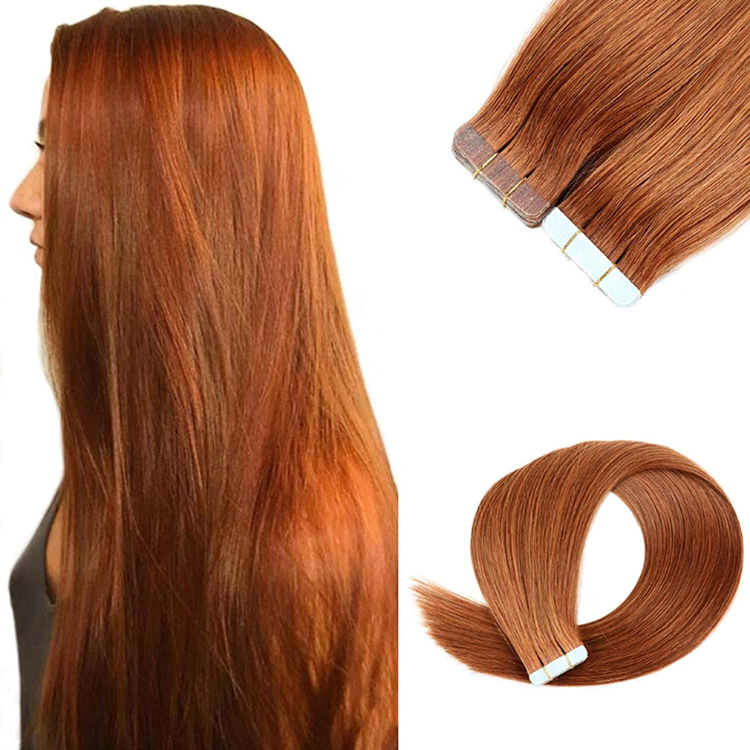 16-24 Inch Seamless Remy shipfree Tape in Natural Extensions 5% OFF Human P Hair