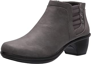 Easy Street Women's Ankle Boot, Grey, 6 Wide