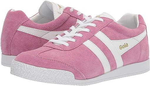Dusky Pink/White