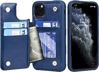 Migeec Funda para iPhone 11 Pro Max – Funda de piel sintética [antigolpes] Funda con tapa para iPhone 11 Pro Max 6,5 pulga...