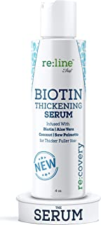 Sponsored Ad - Biotin Hair Growth Serum for Women Men Hair Thickener for Fine Hair Serum for Hair Growth with Biotin and S...