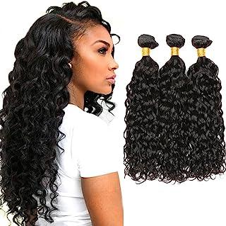 Dai Weier Brazilian Natural Hair Remy Water Wave Sew In Weave Haar Tressen Extensions Echthaar Schwarz Dunkelbraun 300g We...