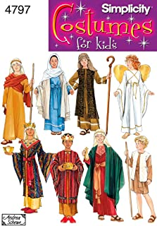 Simplicity 4797 Historical and Biblical Costume for Boys and Girls by Andrea Schewe, Sizes A (S-L)