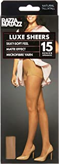 Razzamatazz Women's Pantyhose 15 Denier Luxe Sheers