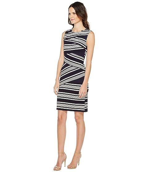 Adrianna Papell Bodycon Sleeveless Stripe Dress 1wSn1vqgP