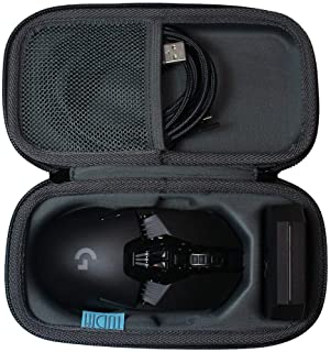 TUDIA Hard Travel Shock Absorption Carrying Storage Case for Logitech G903/ G900 Chaos Lightspeed Gaming Mouse