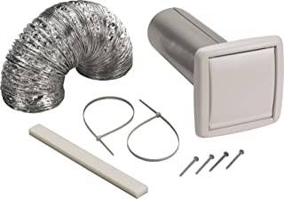Broan-NuTone Not Available NuTone WVK2A Flexible Wall Ducting Kit for Ventilation Fans, 4-Inch,