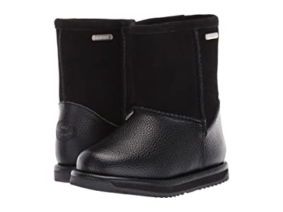 EMU Australia Kids Waterproof Trigg (Toddler/Little Kid/Big Kid) (Black) Girls Shoes