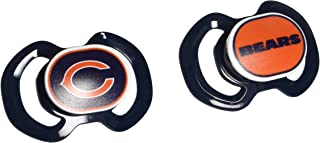 Baby Fanatic NFL Chicago Bears Unisex CHB212Gen. 3000 Pacifier 2-Pack - Chicago Bears, See Description, See Description