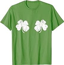 Shamrock Boobs T-Shirt Irish St Patricks Day Gift Shirt
