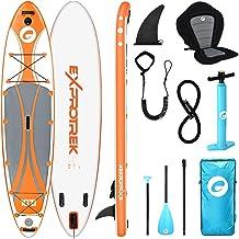 Exprotrek Stand Up Paddling Board, opblaasbaar SUP-board, stand-up padddle board, 6 inch dik voor alle moeilijkheidsgrade...