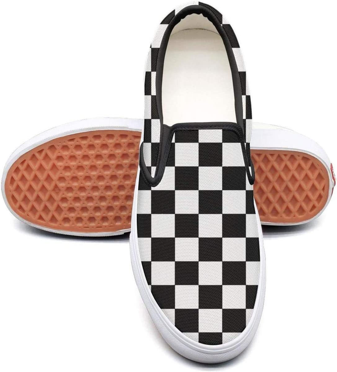 Classic Checkerboard Slip-On Skate Shoe