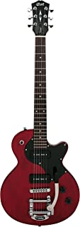 Guitarra Cort junior Sunset Sunset JR WR-eléctrico Vintage Retro Nuevo - Vino tinto