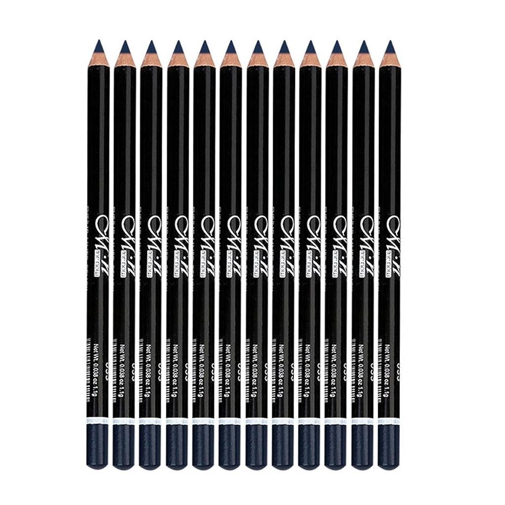 同僚ロマンス広大なアイライナー鉛筆 12色 防水 アイシャドー アイライナー メイク マスカラ アイライナー鉛筆 (35#)
