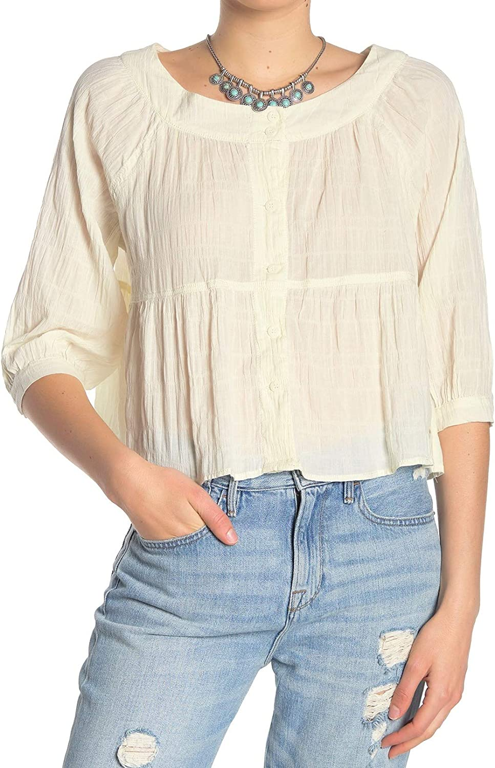 Free People Women's Sea to Shore Blouse