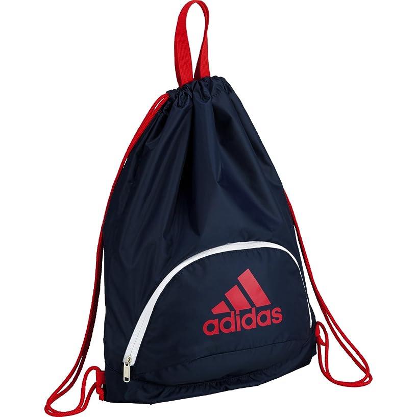 スーツケースビーチ疼痛adidas(アディダス) バッグ ボール用ナップ AKM33NVR ネイビー×赤
