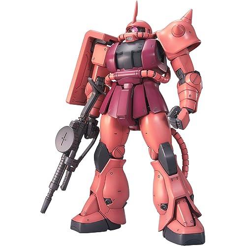 1位:MG 機動戦士ガンダム MS-06S シャア専用ザクVer.2.0 1/100スケール 色分け済み