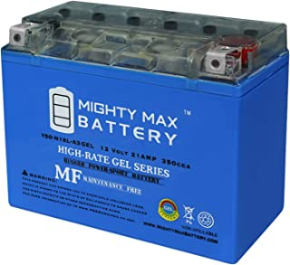 Mighty Max Battery Y50-N18L-A3 Gel Battery for Yamaha 1100cc XV1100 Virago All 1987 Brand Product