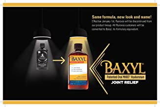 Runovia with MHB3TM Hyaluronan 6 oz Liquid, Supports healthy cartilage and joint function. From the makers of Baxyl