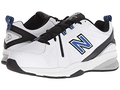 New Balance 608v5 (White/Team Royal) Men