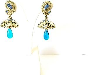 Purple Wish Crystal Earrings For Women [5850]
