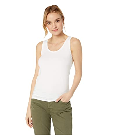 Majestic Filatures Soft Touch Flat-Edge Scoop Neck Tank Top
