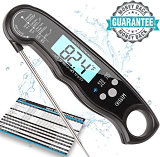 Digital Meat Thermometer Instant Read for Grilling Cooking Food BBQ or Candy,Wireless Long Probe for Kitchen,Steak,Oven,Grill,Beer,Milk,Water,Bath Water,Indoor Outdoor