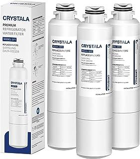 Crystala Filters DA29-00020B Water Filter Replacement for Samsung Refrigerators, Compatible with Samsung DA29-00020B, DA29-00020A, HAF-CIN, HAF-CIN/EXP, 46-9101, 3 Packs