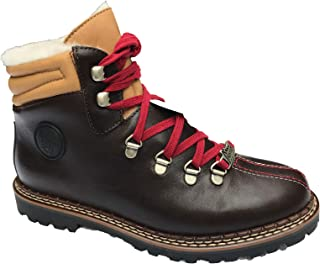 Ammann-Fall Sale-Town 3 Special Edition-Dark Brown Leather/Beige Leather Tongue & Cuff-Euro 40 / US-8.5 - MSRP $330.00