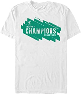 Liverpool Football Club Men's European Champions 2019 T-Shirt