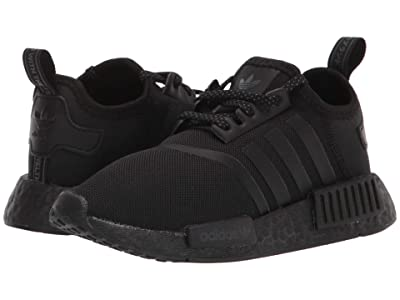 adidas Originals Kids NMD_R1 C (Little Kid) (Core Black/Core Black/Grey Six) Kids Shoes