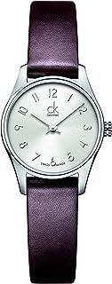 Calvin Klein Women's Quartz Watch with Black Dial Analogue Display Quartz Leather K4D231G6