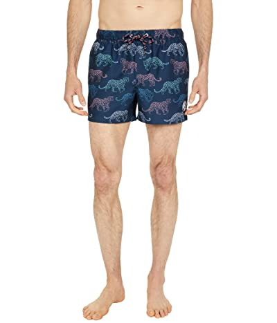 Original Penguin Leopard Print Swim Shorts