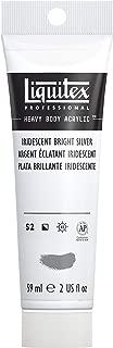 Liquitex Professional Heavy Body Acrylic Paint, 2-oz Tube, Iridescent Bright Silver
