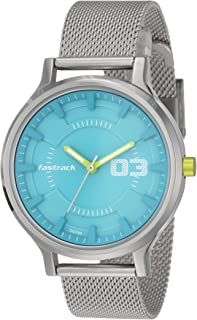 Fastrack Loopholes Blue Dial Analog Watch for Men