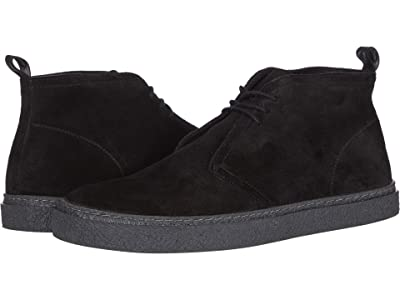 Fred Perry Hawley Suede (Black) Men