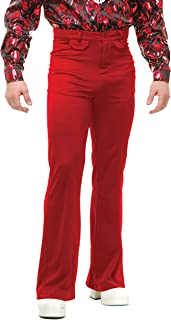 Red Bell Bottom Disco Pants