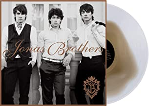 Jonas Brothers Enterprises / One Small Step - Exclusive SUPER RARE Edition White With Brown Blob Colored Vinyl LP (Jonas Brothers Deluxe Vinyl Club Edition) (Only 1500 Copies Made Worldwide)